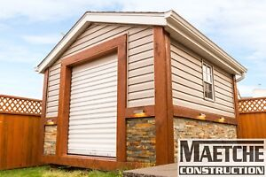 Garden Sheds ( By Maetche Construction)