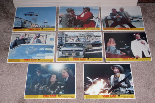 USED CARS original 1980 color lobby still set KURT RUSSELL/GERRIT GRAHAM