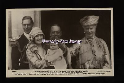 r3298 - The Homecoming of Duke & Duchess from their Empire Tour - postcard