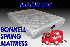 FREE DELIVERY Queen Size Budget Friendly PILLOW TOP Mattress NEW