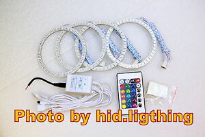 BMW-Angel-Eye-RGB-Multi-Color-LED-SMD-E46-3-series-2D-2-Door-Coupe-2DR-Facelift