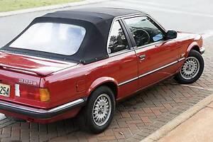 1986 BMW 3 Convertible - e30 325e TC Baur Cabriolet Perth Region Preview