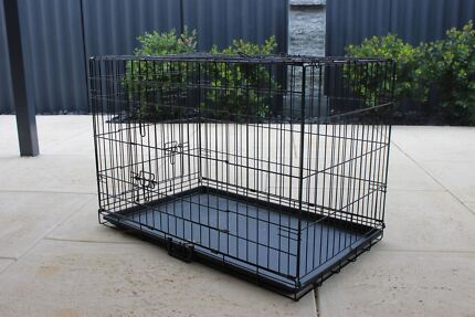 90cm x 60cm Wire Dog Crate Willetton Canning Area Preview