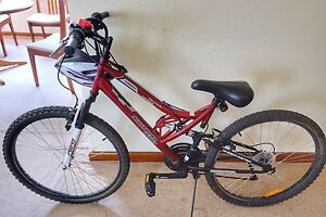 As new Terrain bike 66cm with helmet Ringwood Maroondah Area Preview