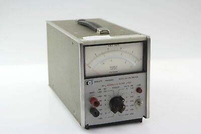 HP HEWLETT PACKARD 400F AC VOLTMETER #6 for sale  Shipping to United States