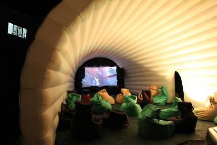 Outdoor Cinema Igloo With Inbuilt Screen