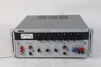 Fluke 335a Dc Voltage Differential Voltmeter Null Detector - Missing Badge