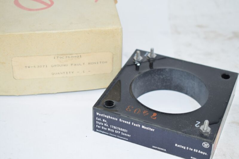 NEW Westinghouse Ground Fault Monitor 179C768H01 GHP Sensors