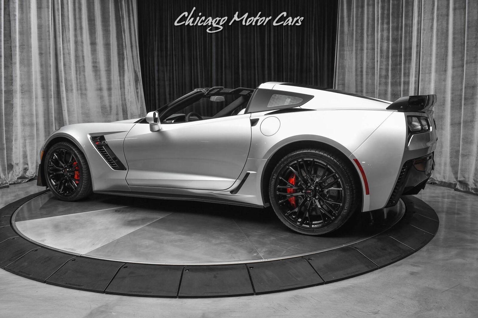 2016 Silver Chevrolet Corvette Z06 3LZ   C7 Corvette Photo 3