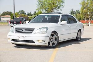 2002 Toyota Celsior (Lexus LS430) Massage Seats & Fridge