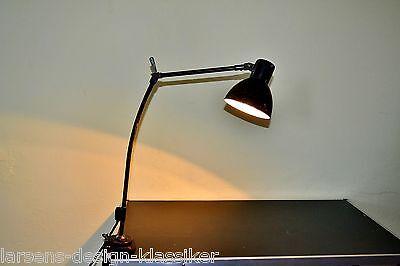 Kandem Klemmlampe Gelenkarmlampe Werkstattlampe Industrie Gelenk Tischlampe #200
