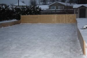 Hockey Rink Boards