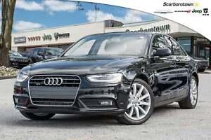 2014 Audi A4 2.0 Komfort+LTHR+XENON-LIGHT+AWD