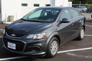 2017 Chevrolet Sonic LT -LOW KM! CHEAP MONTLY PAYMENTS!! APPLY!!