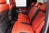 Mercedes-Benz G 63 AMG BLACK / RED Armoured B6 on Stock!
