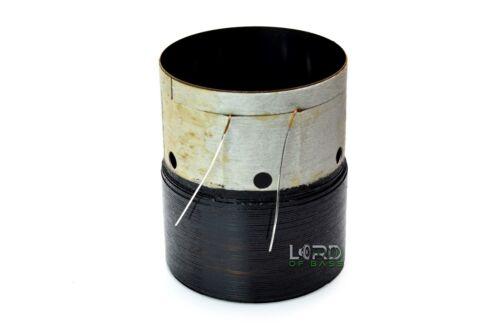"""2.5"""" Dual 2 ohm Voice Coil  Flat Copper  Subwoofer Speaker Parts VC140414"""