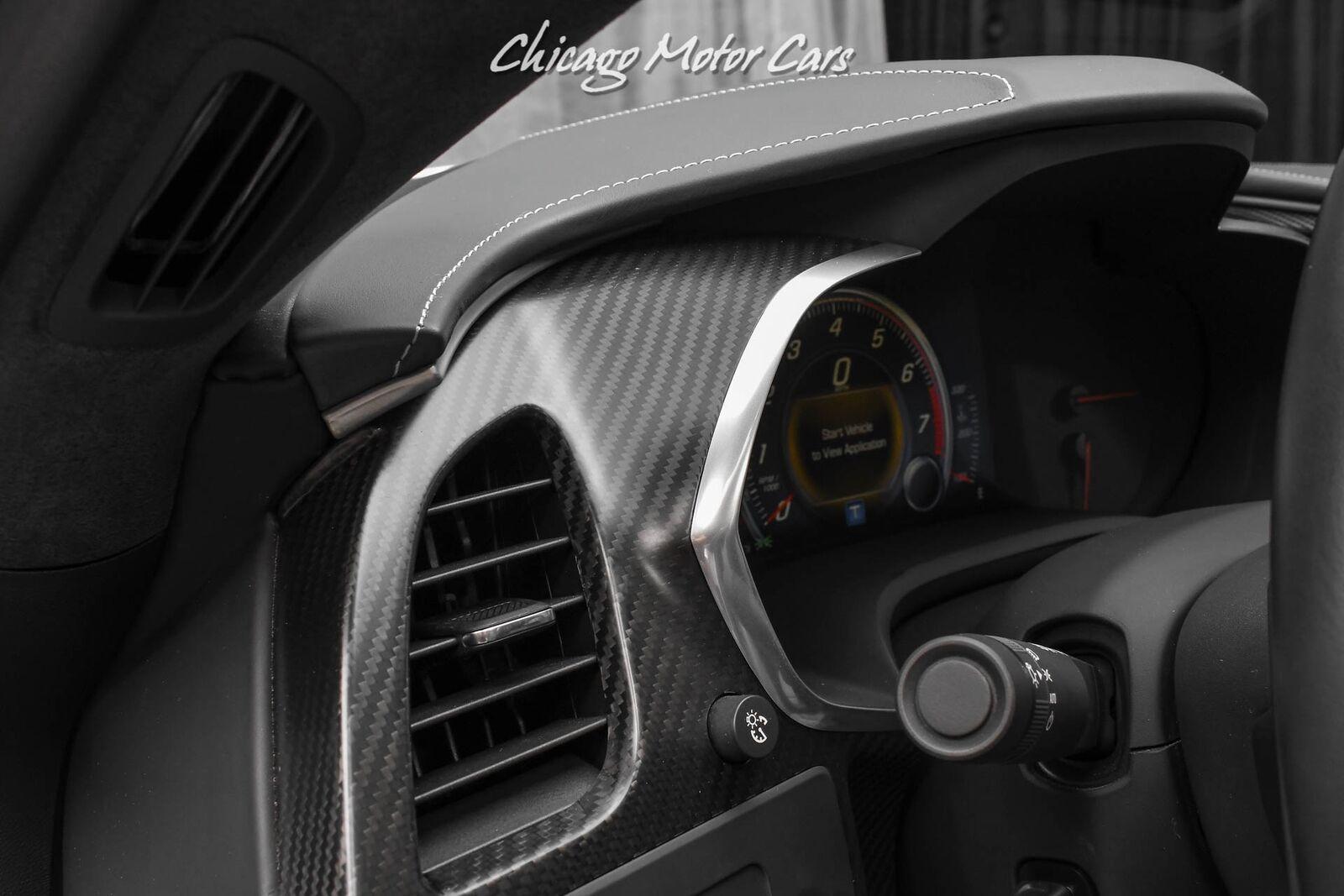 2016 Silver Chevrolet Corvette Z06 3LZ   C7 Corvette Photo 10