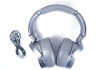 Sony - MDR-XB950N1 EXTRA BASS Noise-Canceling Bluetooth Headphones - Titanium