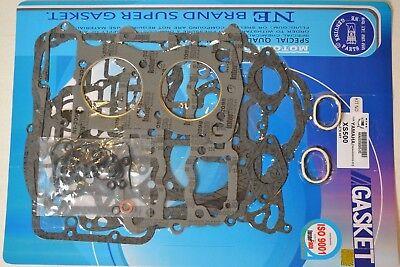 Yamaha 73-74 TX500 75-78 XS500 Complete Engine Gasket Kit Set