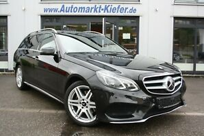 MERCEDES-BENZ E 200 T CDI 7G-TR*AMG*LED*Navi*Distronic*Alarm*