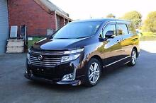2010 Nissan Elgrand E52 Highwaystar Premium Wagon 7st 5dr CVT 6sp Bayswater Knox Area Preview