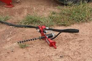 HYDRAULIC WOOD BORER fencing FARMFORCE fence posts Yandina Maroochydore Area Preview