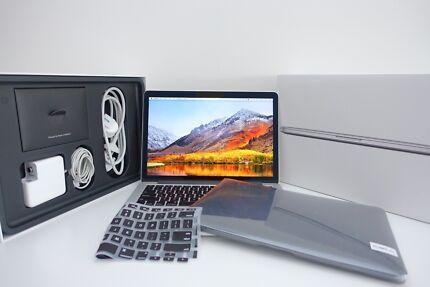 "Macbook Pro RETINA 13"" 2013 + 256gb SSD 8gb ram + extras! box!"