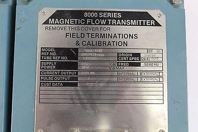 Foxboro Model 8000-ta10 Magnetic Flow Meter New B222