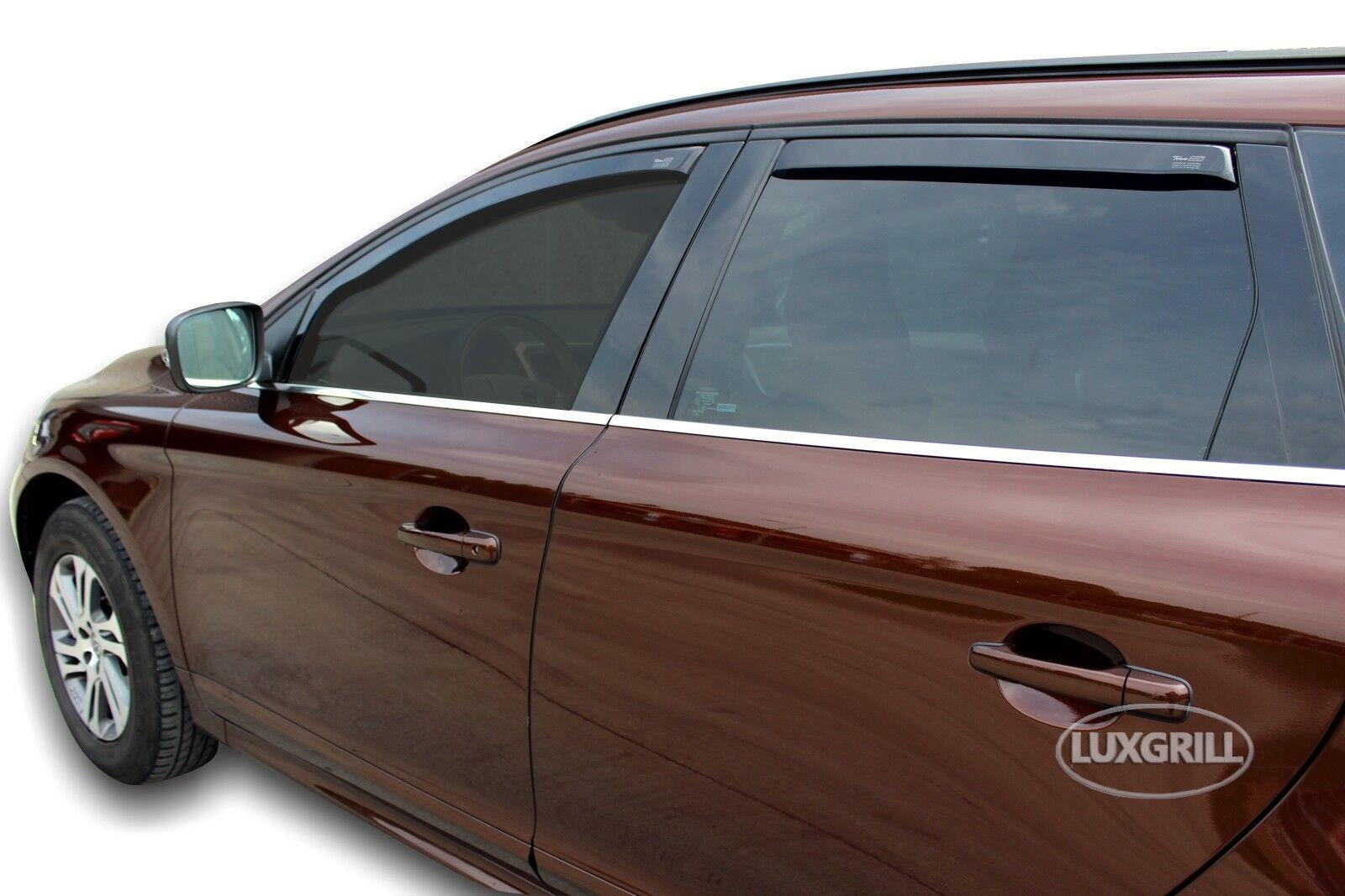 J/&J AUTOMOTIVE Windabweiser Regenabweiser f/ür Volvo S60 4-t/ürer 2000-2010 2tlg HEKO dunkel