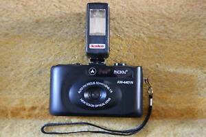 A cute, simple retro 35mm film camera (1) plus universal flash Sydney City Inner Sydney Preview