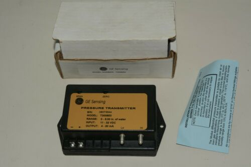GE General Electric Pressure Transmitter S/N: 06075544 Model: T3008E0