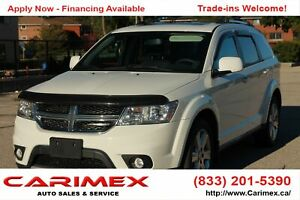 2012 Dodge Journey SXT & Crew CERTIFIED