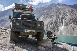 Land Rover Defender 110 300TDI Expedition Vehicle with PopTop