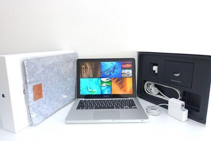"Macbook Pro 13""2012 +MAXED SPECS! 750gb 8gb ram Intel i7 + EXTRAS"