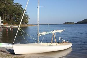 Corsair 16 sailing boat on registered Dunbier trailer Uralla Uralla Area Preview
