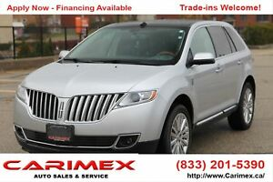 2011 Lincoln MKX NAVI | Pano Sunroof | Leather | CERTIFIED