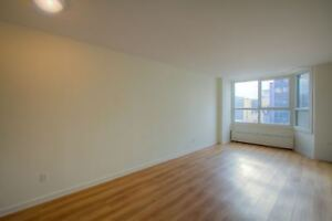 Spacious 3 1/2 - Downtown highrise - Guy-Concordia metro