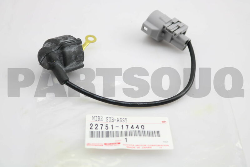 2275117440 Genuine Toyota Wire Sub-assy, Fuel Cut Solenoid 22751-17440