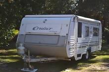 2001 REGENT CRUISER POP TOP 17'6 SINGLE BEDS & SOLAR Hawks Nest Great Lakes Area Preview