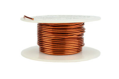 Temco Magnet Wire 16 Awg Gauge Enameled Copper 4oz 31ft 200c Coil Winding
