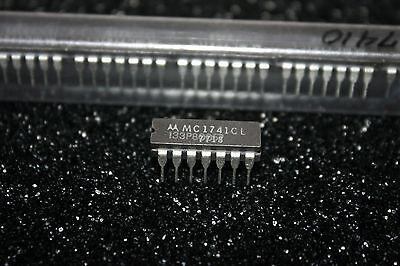 Motorola Mc1741cl Operational Amplifier Op Amp Ceramic