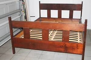 Queen Size Wood  Bed, excelent condition Bridgeman Downs Brisbane North East Preview