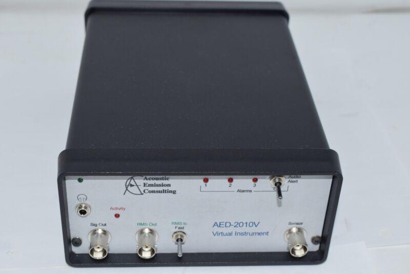 ACOUSTIC EMISSION AED-2010V VIRTUAL INSTRUMENTS 100 KHz HP