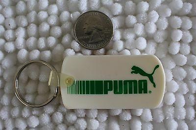 Puma Athletic Shoes White & Green Keychain Key Ring #25462