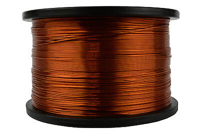 """20 AWG Gauge Heavy Copper Magnet Wire 4 oz 78/' Length 0.0346/"""" 155C Red"""