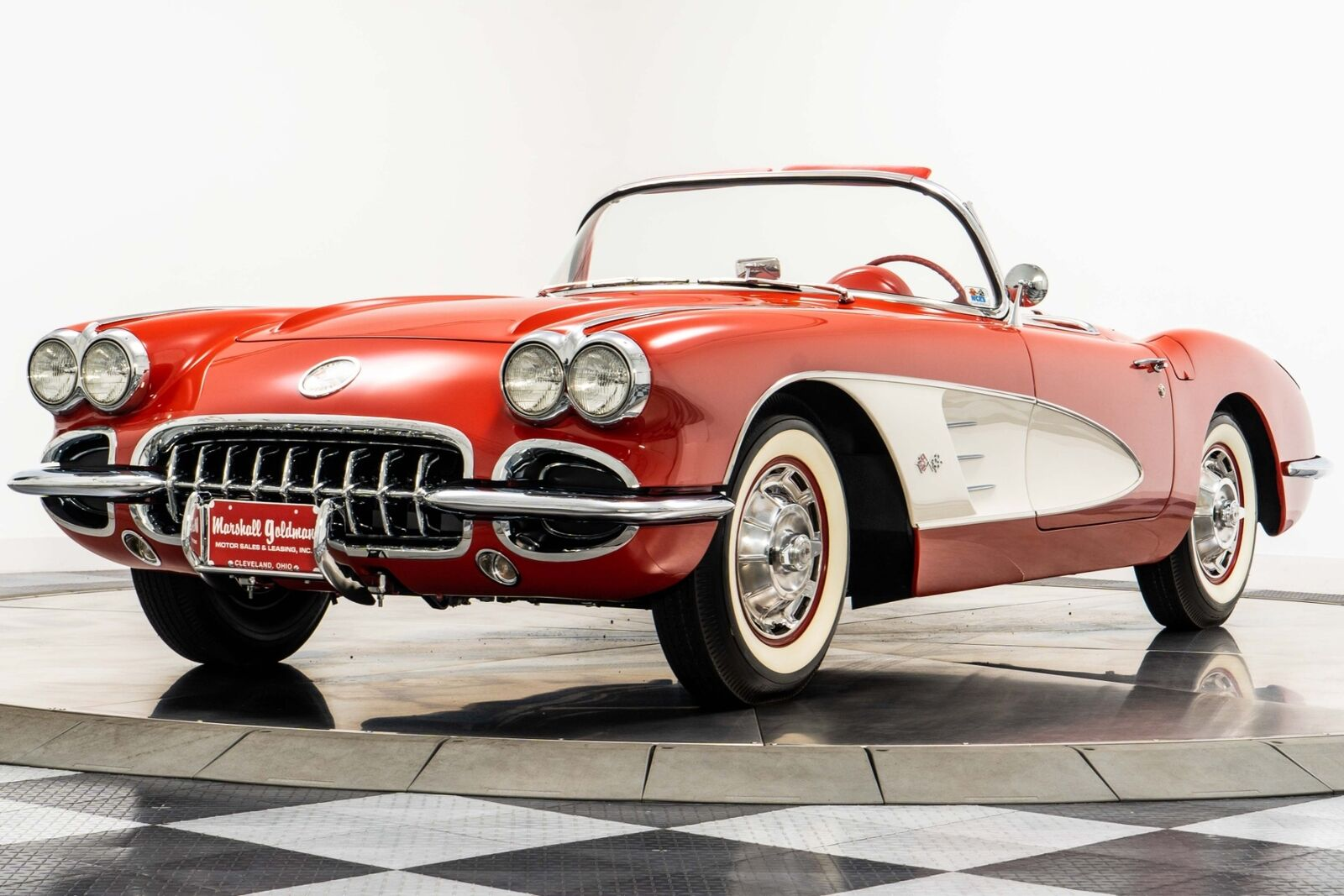 1960 Red Chevrolet Corvette   | C1 Corvette Photo 4