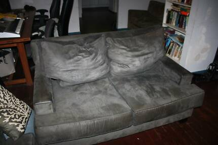 corner grey chesterfield suede couch of sofa size enchanting living decor room blue large