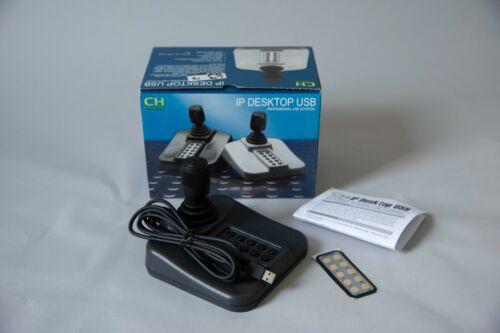 CH Products IPD Desktop USB PTZ Controller Joystick