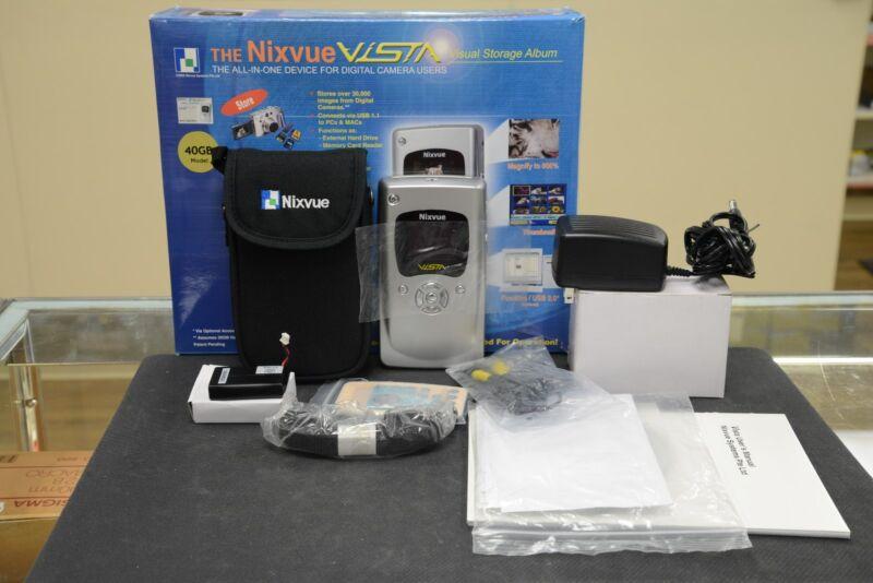 Nixvue Vista Visual Storage Album 40GB Portable Digital Storage Device