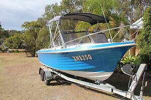 cruise craft ranger18 df140hp suzuki 4 stoke Manly Manly Area Preview